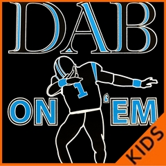 Dab On 'Em Football Player Kids T-shirt