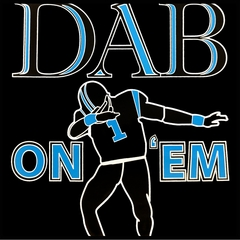 Dab On 'Em Football Player Mens T-shirt