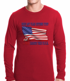 Does My Flag Offend You? Thermal Shirt