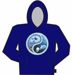 Dolphin Ying Yang Hoodie