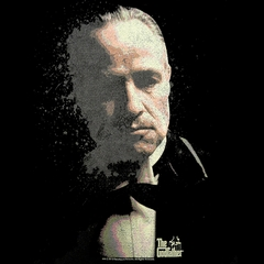 Don  Corleone The Godfather Vintage Men's T- Shirt