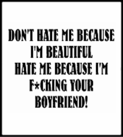 Don't Hate Me T-Shirt (Mens)