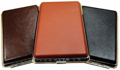 Double Sided Leather Wrap Cigarette Cases (For Regular Size Cigarettes)