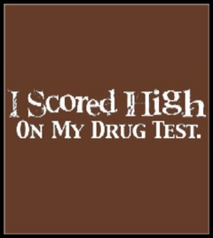Drug Test Mens T-Shirt