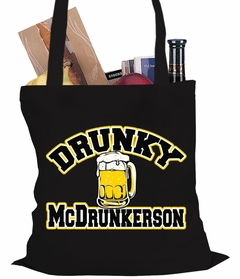 Drunky McDrunkerson Funny Tote Bag