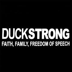 DuckStrong  Faith, Family, Freedom Of Speech Men's T-Shirt