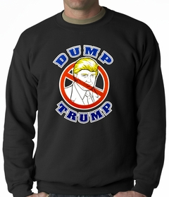 Dump Trump Adult Crewneck