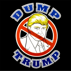 Dump Trump Mens T-shirt