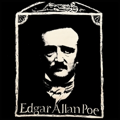 Edgar Allan Poe Portrait Mens T-shirt