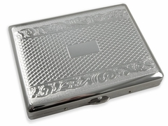 Embossed Diamond Cigarette Case (For Regular Size & 100's)