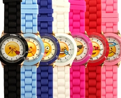 Emoji Watches - You pick the Emoji and Watch Band Color