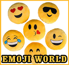 Emoji World - All types of Emoji Items: Towels, Shorts, Pillows, Yoyo and More