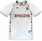 England PRO Soccer Jersey :: PRO Futball Jersey (White)
