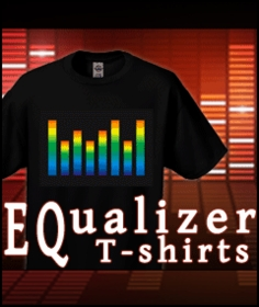 EQ Equalizer  Rave T-Shirts - Equalizer Shirts and Rave Gear