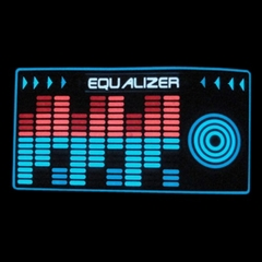 EQ Reactor T-Shirt With Sound Reactive Action