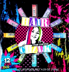 Expressions Hair Chalk (Set of 12 Colors)