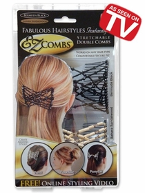 EZ-Combs Fabulous Hairstyles Instantly :: As Seen On TV!