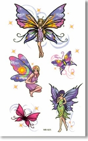 Fairy Butterfly  Temporary FakeTattoo