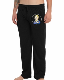 Official Fallout Vault Boy Pajama Pants (Black)