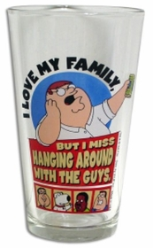 "Family Guy ""I Love My Family"" Pint Glass"