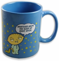 "Family Guy - Stewie Griffin ""Whatever Helps You Sleep"" Coffee Mug"