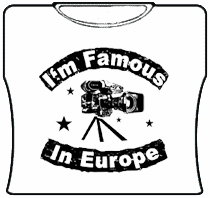 Famous In Europe Girls T-Shirt