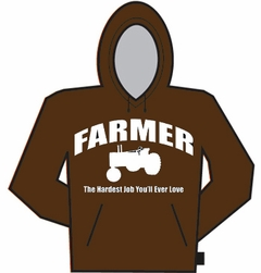 Farmer The Hardest Job Hoodie