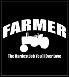 Farmer The Hardest Job T-Shirt