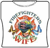 Firefighters Wife Girls T-Shirt