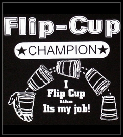 Flip Cup Champion Men's T-Shirt