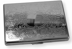 Floral Paisley Cigarette Case (For Regular Size & 100's)