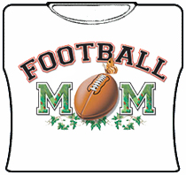 Football Mom Girls T-Shirt
