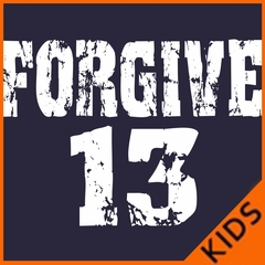 Forgive #13 Baseball Kids T-shirt