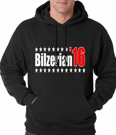 Full Color Bilzerian '16 - Vote For Bilzerian For President in 2016 Adult Hoodie