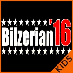 Full Color Bilzerian '16 - Vote For Bilzerian For President in 2016 Kids T-shirt