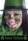Temporary Face Tattoo - St. Patty's Day