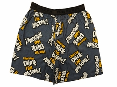 Fun Boxer - I Don't Get Drunk I Get Awesome Boxer Shorts