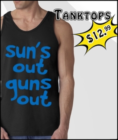 Funny Tank Tops, Sleeveless T-Shirts & Offensive Rude and Funny Shirts