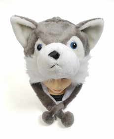 Furry Animal Hats (Grey Fox)