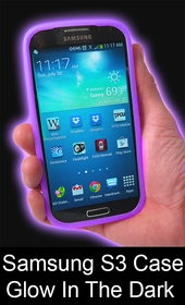Galaxy S3 Samsung Glowing Case - Glow In The Dark For Samsung S3