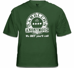 "Gambler's Anonymous ""We Bet You'll Call"" Vintage T-Shirt"