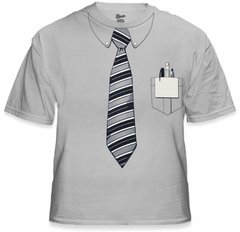 Geek Tees - Nerd T-Shirt With Tie & Pocket Protector