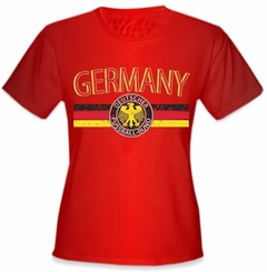 Germany Vintage Shield International Girls T-Shirt