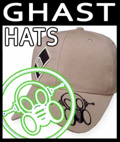 Ghast Baseball Hats