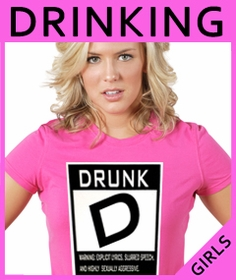 Girls Drinking & Beer T-Shirts