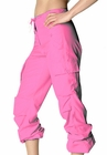Girls Hipster UFO Pants 100% Cotton (Hot Pink)