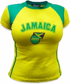 Girls International Soccer Jersey (Jamaica)