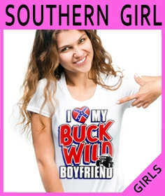 Girls Redneck & Dixie T-Shirts