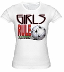 Girls Rule Turf Queen Girls T-Shirt