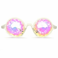GloFX Clear Kaleidoscope Glasses- Rainbow